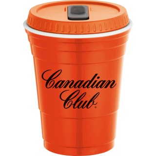 1623-91 - Game Day Cup With Lid 16oz - product thumbnail